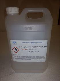 Alcool polyvinylique incolore 5 litres