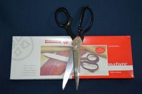 Ciseaux droitier tout acier à lame lisse - usage intensif lame de 25 cm