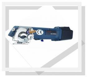 Ciseau électrique batterie lame 10 pans 60MM