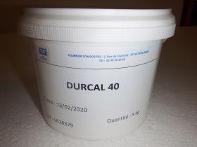 Charge carbonate DURCAL 40 en seau de 5kg