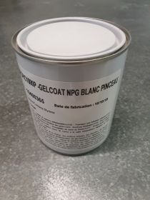 Gel coat supcoat NPG piscine blanc version Pinceau en 1kg