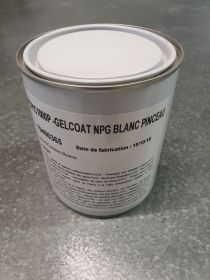 Top coat supcoat NPG piscine blanc version Spray en 1kg