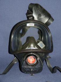 Masque panoramique écran anti solvant