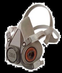 Demi-masque 3M taille L