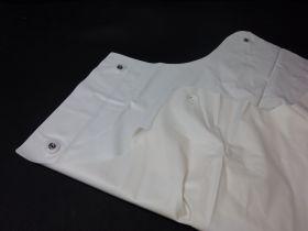 Tablier pvc blanc 110cm X 90cm épaisseur 0,30mm