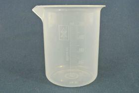 Bécher 500 ml polypropylène gradué dans la masse forme haute