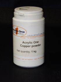 Pigment pour résine acrylique cuivre bidon 1 kg
