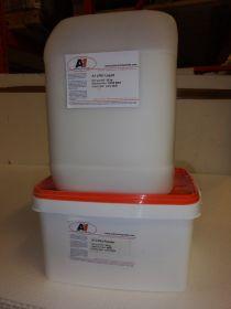 Kit résine acrylique grise 60 kg LP01 (20 kg résine + 40 kg poudre)
