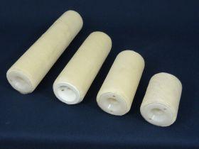 Manchon enducteur à vis laqueur hauteur de poils 4 mm longueur 80 mm