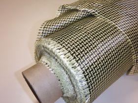 Tissu aramide carbone 175 gr/m² largeur 127cm