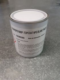 Top coat supcoat NPG piscine blanc version Pinceau en 1kg