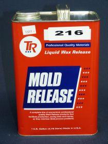 Cire TR 216 démoulant liquide haute température en gallon 3