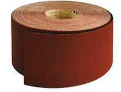 Rouleau support toile qualité supérieure 115mm X 25 m grain 100