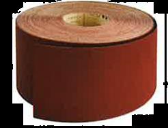 Rouleau support toile qualité supérieure 115mm X 25 m grain 180