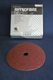 Disque fibre Ø 178 mm grain 120 (x25)