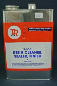 Cire TR 500 nettoyant/vernis de finition en gallon 3,78l