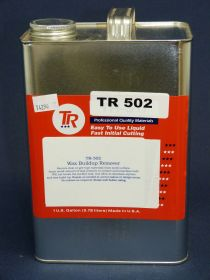 Cire TR 502 pour élimination des impuretés en gallon 3,78l