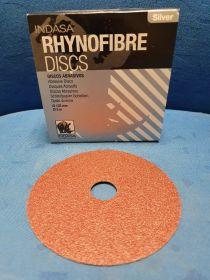 Disque fibre Ø 125 mm grain 80 (x25)