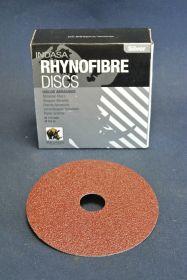 Disque fibre Ø 115 mm grain 24 (x25)
