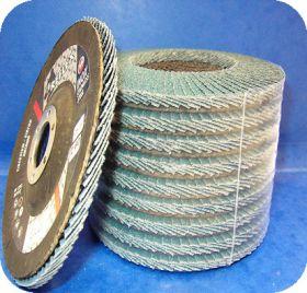 Disque à lamelles zirconium Ø 125 grain 120